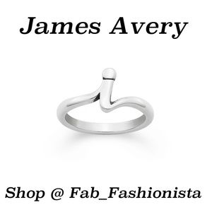 "James Avery ""I"" initial ring"